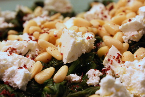 ottolenghi spinach
