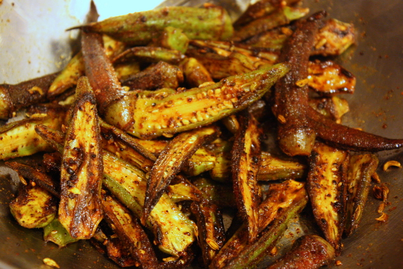 Spiced Okra, Easy and Delicious | Spicy Okra | Skillet-Roasted Spiced ...