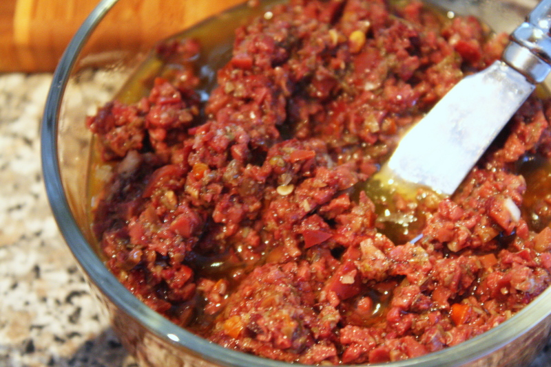 spicy tapenade