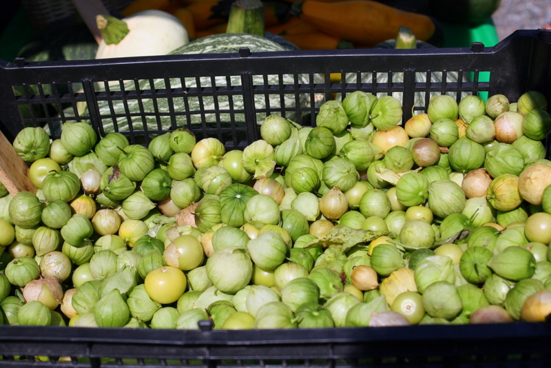 tomatillos from El Poblano Farm