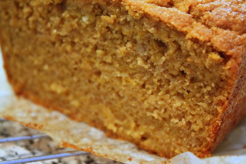 pumpkin bread texture