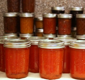 lots of canning